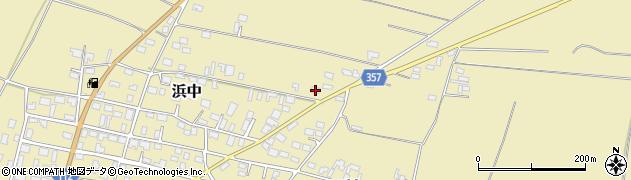 山形県酒田市浜中村北分散19周辺の地図
