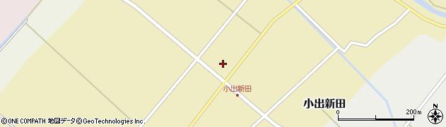 山形県東田川郡庄内町小出新田周辺の地図