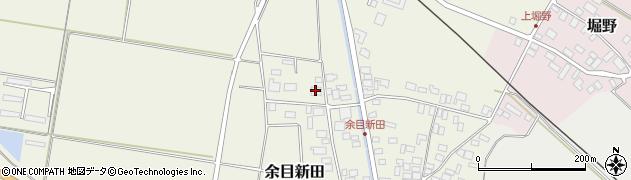 山形県東田川郡庄内町余目新田新田町2周辺の地図