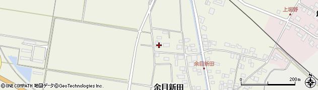 山形県東田川郡庄内町余目新田新田町5周辺の地図