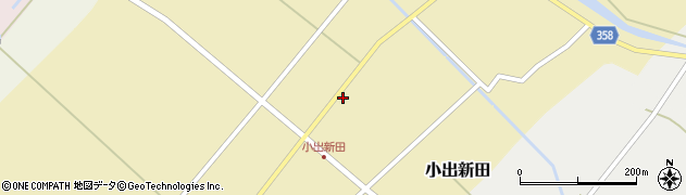 山形県東田川郡庄内町小出新田苧畑割18周辺の地図