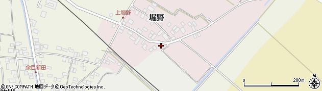 山形県東田川郡庄内町堀野上堀野24周辺の地図