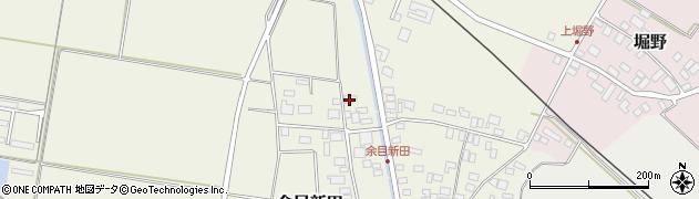 山形県東田川郡庄内町余目新田新田町12周辺の地図