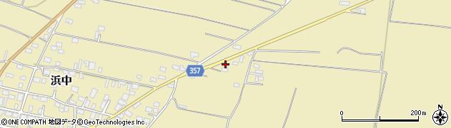 山形県酒田市浜中村北分散68周辺の地図