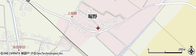 山形県東田川郡庄内町堀野上堀野25周辺の地図