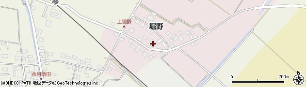 山形県東田川郡庄内町堀野上堀野23周辺の地図