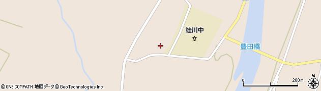 山形県最上郡鮭川村庭月3556周辺の地図