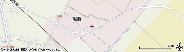 山形県東田川郡庄内町堀野上堀野34周辺の地図