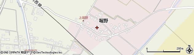 山形県東田川郡庄内町堀野上堀野19周辺の地図