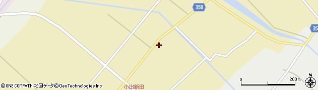 山形県東田川郡庄内町小出新田苧畑割21周辺の地図