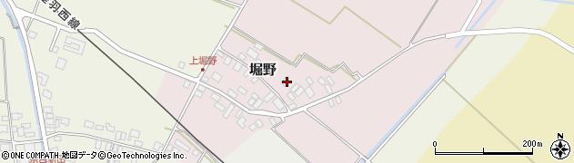 山形県東田川郡庄内町堀野上堀野44周辺の地図