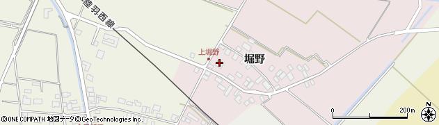 山形県東田川郡庄内町堀野上堀野17周辺の地図