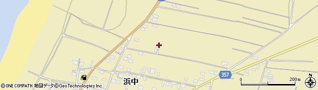 山形県酒田市浜中村北分散65周辺の地図