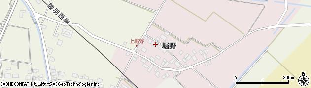 山形県東田川郡庄内町堀野上堀野18周辺の地図