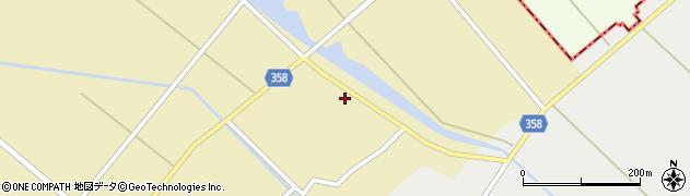 山形県東田川郡庄内町小出新田村北158周辺の地図