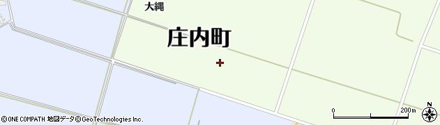 山形県東田川郡庄内町茗荷瀬大縄周辺の地図