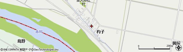 山形県酒田市広野杓子65周辺の地図