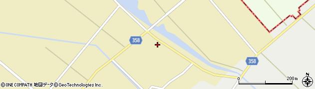 山形県東田川郡庄内町小出新田村北156周辺の地図