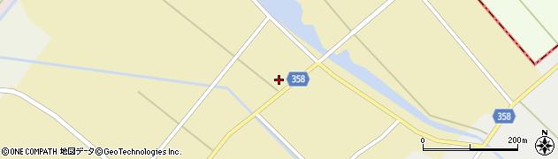 山形県東田川郡庄内町小出新田村北99周辺の地図