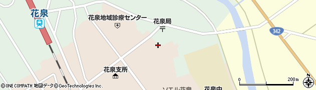 岩手県一関市花泉町涌津(古川)周辺の地図