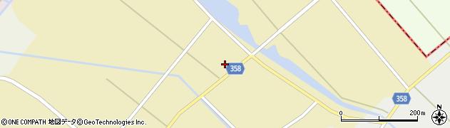 山形県東田川郡庄内町小出新田村北100周辺の地図
