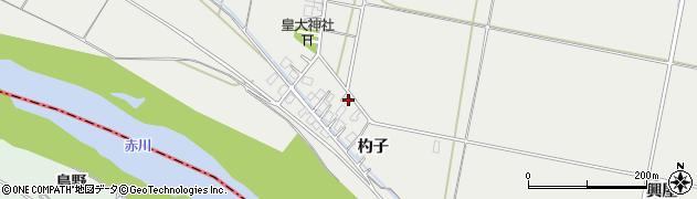 山形県酒田市広野杓子63周辺の地図