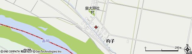 山形県酒田市広野杓子57周辺の地図