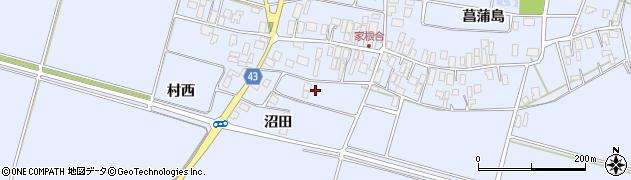 山形県東田川郡庄内町家根合沼田56周辺の地図