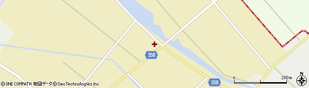 山形県東田川郡庄内町小出新田村北148周辺の地図