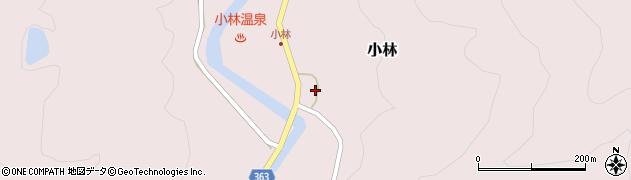 山形県酒田市小林杉沢81周辺の地図