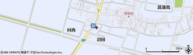 山形県東田川郡庄内町家根合沼田168周辺の地図