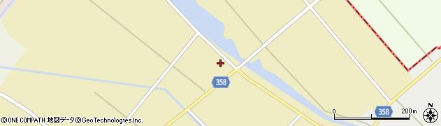 山形県東田川郡庄内町小出新田村北147周辺の地図