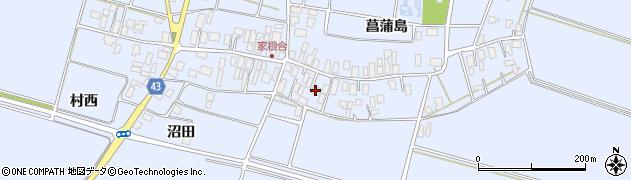 山形県東田川郡庄内町家根合菖蒲島112周辺の地図