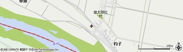 山形県酒田市広野杓子50周辺の地図