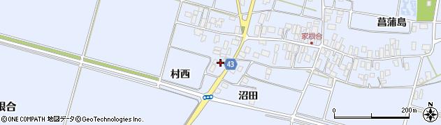 山形県東田川郡庄内町家根合北裏169周辺の地図
