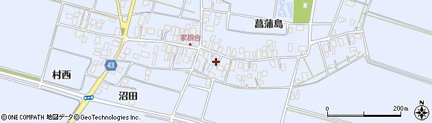 山形県東田川郡庄内町家根合菖蒲島122周辺の地図