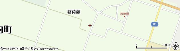 山形県東田川郡庄内町茗荷瀬岡田53周辺の地図