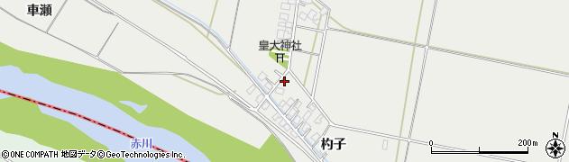 山形県酒田市広野杓子52周辺の地図