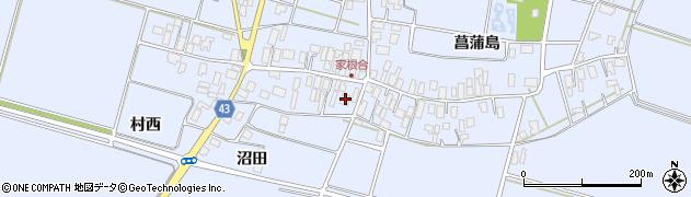 山形県東田川郡庄内町家根合菖蒲島136周辺の地図