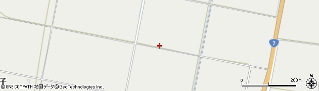 山形県酒田市広野大堰西周辺の地図