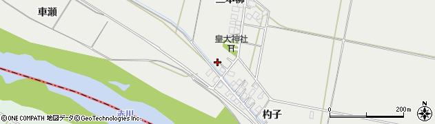 山形県酒田市広野三本柳167周辺の地図