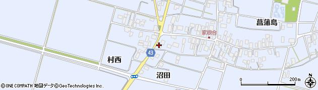 山形県東田川郡庄内町家根合菖蒲島168周辺の地図