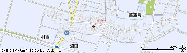 山形県東田川郡庄内町家根合菖蒲島138周辺の地図