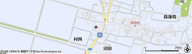 山形県東田川郡庄内町家根合菖蒲島175周辺の地図