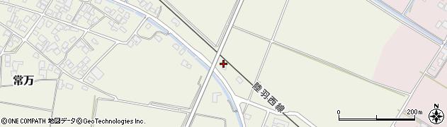 山形県東田川郡庄内町余目新田上北周辺の地図