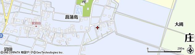 山形県東田川郡庄内町家根合菖蒲島23周辺の地図
