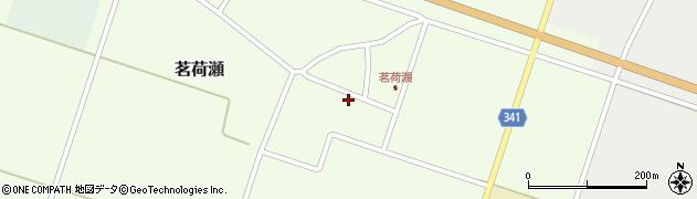 山形県東田川郡庄内町茗荷瀬岡田74周辺の地図
