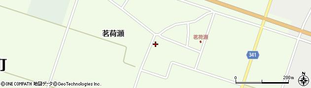 山形県東田川郡庄内町茗荷瀬岡田63周辺の地図