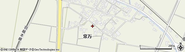 山形県東田川郡庄内町常万常岡11周辺の地図