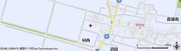 山形県東田川郡庄内町家根合菖蒲島185周辺の地図